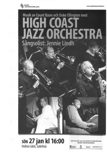27/1 High Coast Jazz Orchestra