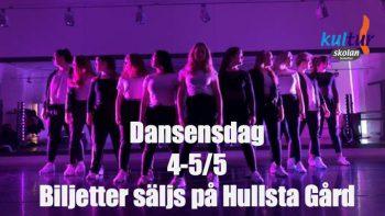 4-5/5 Dansens dag!