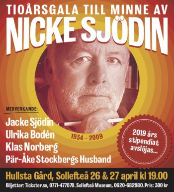 26-27/4 Nicke Sjödin Minnesgala